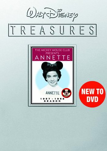Walt Disney Treasures: The Mickey Mouse Club Presents Annette  (Collector's Tin Packaging)
