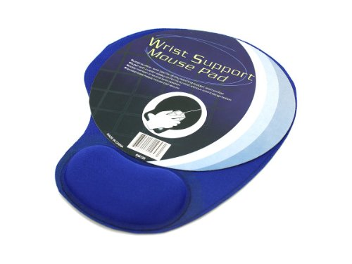 Mouse pad with cushion wrist support - Pack of 48