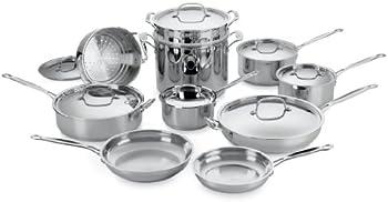 Cuisinart Chef's Classic 17-Pc. Cookware Set