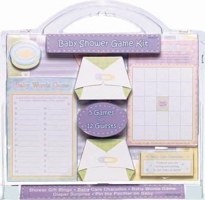 easy baby shower games:Baby Shower Game Kit