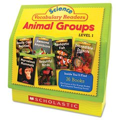 * Science Vocabulary Readers: Animal Groups, 26 books/16 pages and Teaching Guide