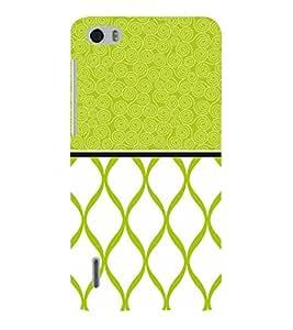 Greenish Self Design 3D Hard Polycarbonate Designer Back Case Cover for Huawei Honor 6
