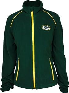 Green Bay Packers Ladies Full Zip Fleece from G-III