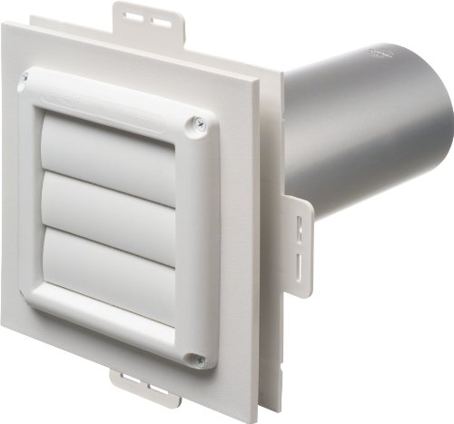 Arlington Industries DV1-1 Dryer Vent Exhaust Mounting Block, 1-Pack (Dryer Vent Wall Cover compare prices)