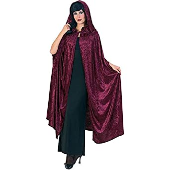 Deluxe 63 Inch Gothic Hooded Cloak