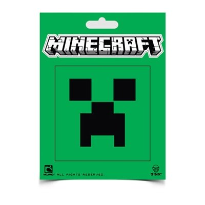 Minecraft- Creeper Face Sticker