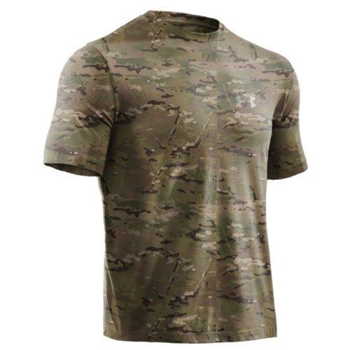 Under Armour 1226789-972 Large HeatGear Short Sleeve Multicam T-Shirt
