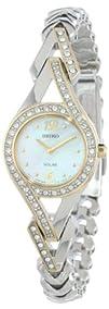 Seiko Womens SUP174 Jewelry-Solar Classic Watch
