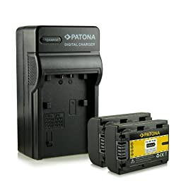 Bundle - 4in1 Charger + 2x Battery Sony NP-FH50 with Infochip · 100% compatible with Sony CyberShot DSC-HX1   DSC-HX100V   DSC-HX200V - DSLR Alpha 230 DSLR-A230   330 DSLR-A330   380 DSLR-A380   390 DSLR-A390 - Camcorder DCR-DVD Series   DCR-HC Series an