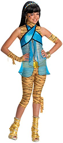 Monster High Cleo de Nile Child Costume Size:Large