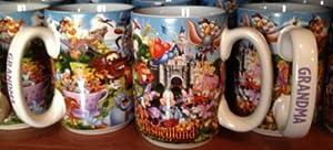 "Disneyland Resort Storybook ""Grandma"" Ceramic Coffee Mug - Disney Parks Exclusive & Limited Availability"