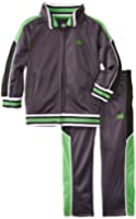 New Balance Little Boys' Basketball Graphic Tricot Jacket and Pant Set