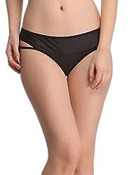 Clovia Soft Polyamide Panty In BlackPN0503P13-S