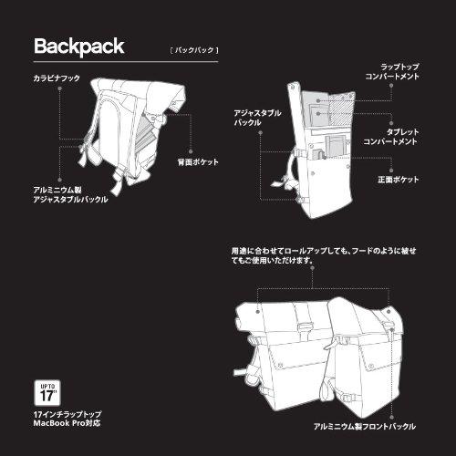 Bluelounge バックパック ブラック BLD-BNBBP-BK