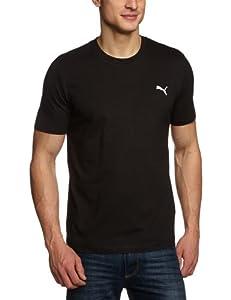 PUMA - Camiseta para hombre, tamaño M, color negro