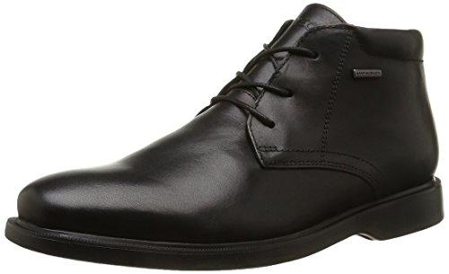 Geox U Brayden 2Fit Abx D - Stivali Desert Boots Uomo, Nero (Blackc9999), 42 EU