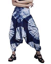 Indi Bargain Tie Dye Printed Alibaba Cotton Afghani Women Trouser