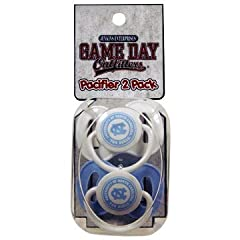 Buy NCAA North Carolina Tar Heels Infant Pacifier by Game Day Outfitters