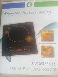 Crompton Essential Ess1 1500-Watt Induction Cooktop