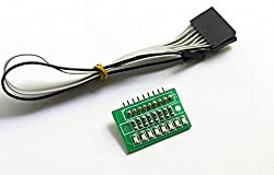 ELEMENTZ HIGH QUALITY 8 BIT SMD LED ARRAY WITH CONNECTOR CABLES for RASPBERRY PI ARDUINO AVR PIC 8051