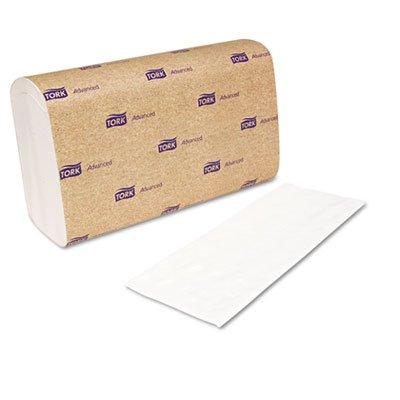 Tork 101291 - Interfold Towels, White, 9 x 10, 2-Ply, 144/Pack, 21 Packs/Carton дозатор tork image design 460010