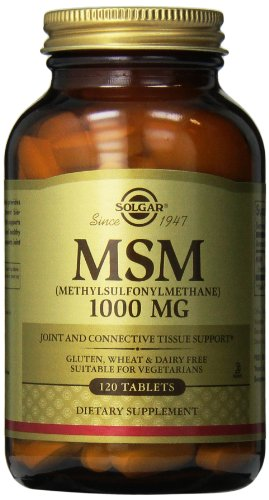 MSM (Methylsulfonylmethane), 1000 mg, 120 Tablets