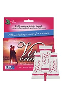 M.d. Science Lab Viva Cream Stimulating Cream For Women - 3 Tubes
