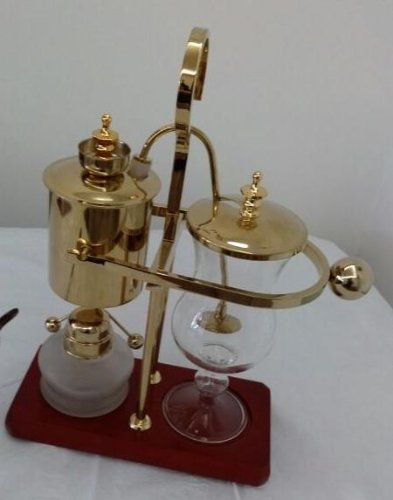 Luxury Home Coffee Maker : Belgian Luxury Royal Family Balance Syphon Siphon Coffee Maker Gold Color By NISPIRA Review ...