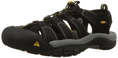 KeenNewport H2 - Scarpe da trekking e da passeggiata Uomo, Nero (Black), 42 EU