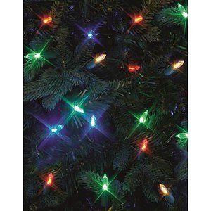 Online Garden Centre Premier Decorations 50 Led Fairy Lights Multi Coloured Suitable For Indoor And Outdoor Use