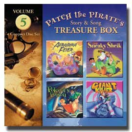 0909133 Patch the Pirate's Treasure Box - Vol. 5, Ron Hamilton