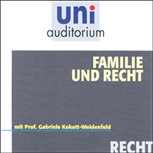 Familie und Recht Hörbuch