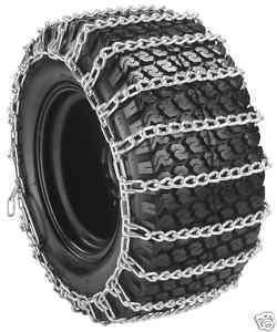 Great Features Of Tire Chains 20X8X8 20X8X10 Snow Throwers / Mowers 2 Link