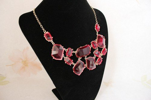 exquisite-transparent-red-irregular-stone-gemstone-necklacebubble-necklaceholiday-party-bridesmaid-s