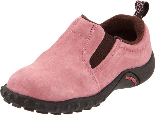 merrell jungle moc leather black pink