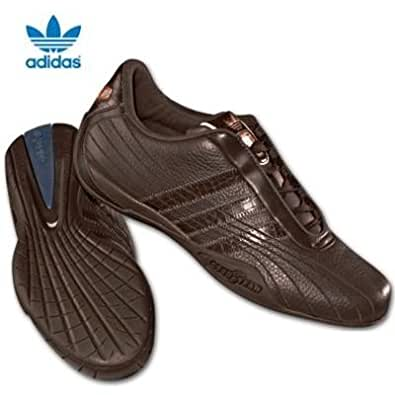 adidas goodyear race fs originals leather trainers espres. Black Bedroom Furniture Sets. Home Design Ideas