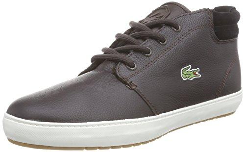 Lacoste AMPTHILL TERRA PUT - Pantofole a Stivaletto, uomo , colore marrone (brown - braun (dk brw/dk brw db2)), taglia 43