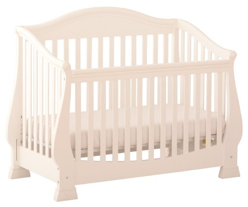 Status Series 300 Stages Convertible Crib, Antique White