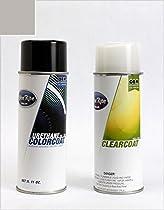 ColorRite Aerosol Jaguar All Automotive Touch-up Paint - Titanium Pearl Clearcoat 810/LFA - Value Package