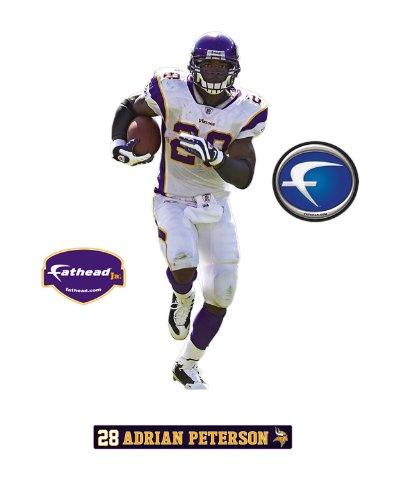 Minnesota Vikings Adrian Peterson Junior Wall Decal