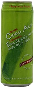 Taste Nirvana Juice, Coco Aloe, 16.2 Ounce (Pack of 12)