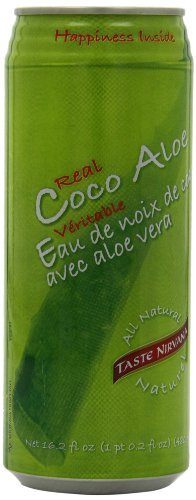 Taste Nirvana Coco Aloe Juice, 16.2 Ounce (Pack of 12) (Aloe Juice With No Sugar Added compare prices)