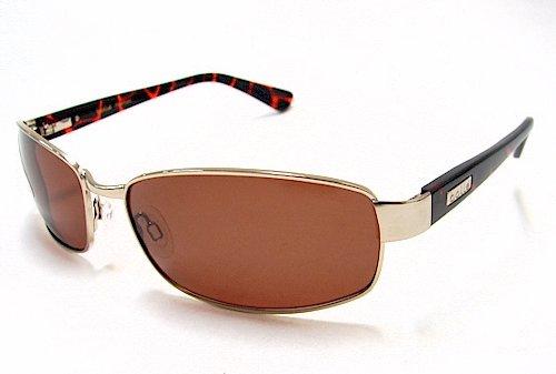 Bolle 11302 Delancey Sunglasses Shiny Gold Polarized Shades