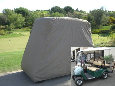 Deluxe 4 Passenger Golf Cart Cover roof 80