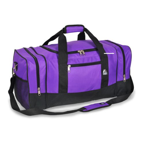Everest Luggage Sporty Gear Bag,One Size,Purple image