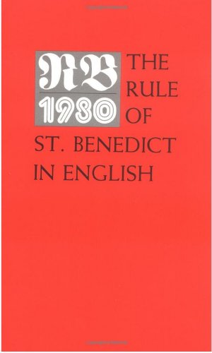 10 Book Pack - RB 1980 The Rule of St. Benedict in English (9780814612729 x10) (Rule Of St Benedict Fry compare prices)