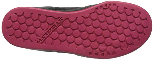 thumbnails of Five Ten Women's Freerider Bike Shoe, Black/Berry, 8 M US