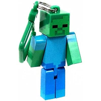 Official Minecraft Exclusive Zombie Toy Action Figure Hanger by U.C.C. / MOJANG