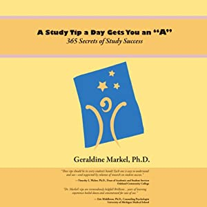 A Study Tip a Day Gets You an 'A' Audiobook