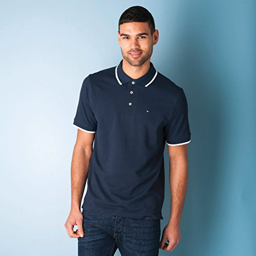 Tommy Hilfiger -  Polo  - Uomo blu navy Medium